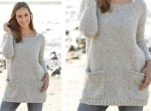 Evening Promenade Knitted Jumper | The Knitting Space