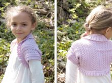 Leelanee Knitted Lace Bolero | The Knitting Space