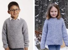 Modest Michael Knitted Sweater | The Knitting Space