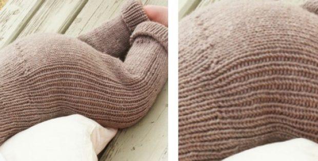 Merino Knitted Baby Trousers Free Knitting Pattern