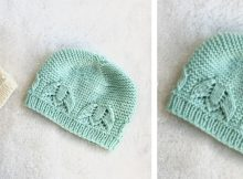 Liliana Knitted Lace Baby Hat | The Knitting Space