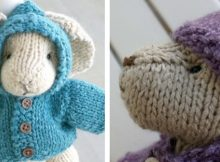 Cuddly Knitted Little Animals | The Knitting Space