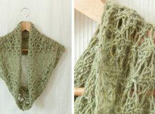 Beautiful Dryad Knitted Lace Cowl | The Knitting Space