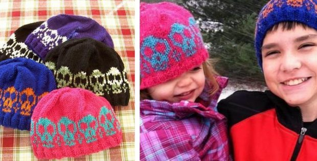 0ab5f3d51e1 Simple Basic Knitted Skull Cap  FREE Knitting Pattern