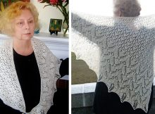 Borrowed Memories Knitted Shawl | The Knitting Space