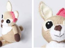 Adorable Dotty Knitted Fawn | The Knitting Space