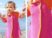 Growing Baby Knitted Cardigan | The Knitting Space