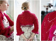 Kimberly knitted lace shrug | the knitting space