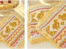 Kitchen Chicks knit pot holders | the knitting space