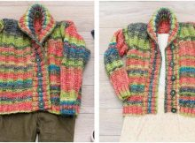 Little Scholar knitted cardigan | the knitting space