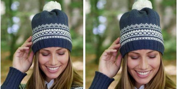 Lofoten Knitted Pompom Hat [FREE Knitting Pattern]