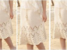 beautiful Love Story knitted lace skirt | the knitting space