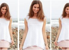Loving Summer knitted lace top | the knitting space