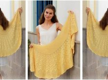 Majesty knitted lace shawl | the knitting space
