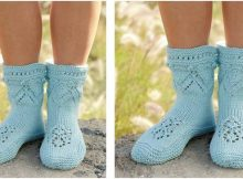 Mary's place knitted slippers | the knitting space