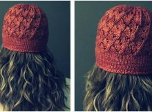 Milaneseknitted lace topper | the knitting space