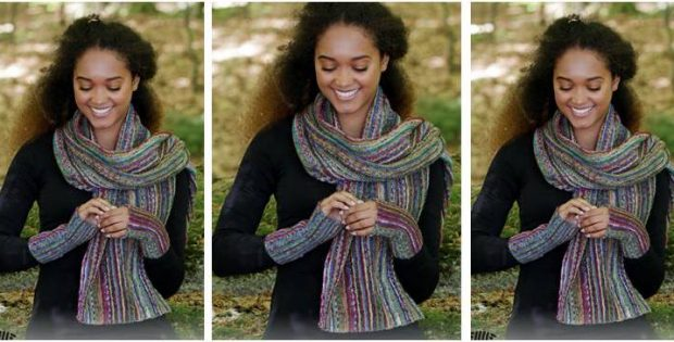 Monaco Stripes knitted set | the knitting space