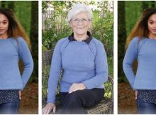 Moody Blues knitted sweater | the knitting space