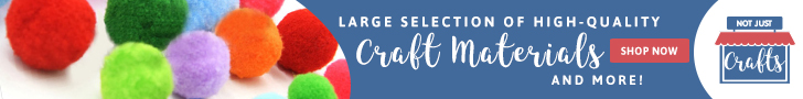A large selection of crafts material | Not Just Crafts