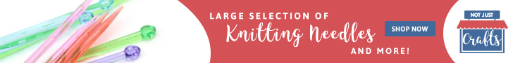 A large selection of knitting needles | Not Just Crafts