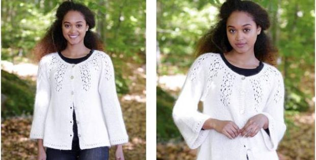 Nineveh knitted lace jacket | the knitting space