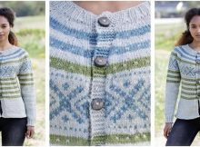 Nova Scotia knitted cardigan | the knitting space