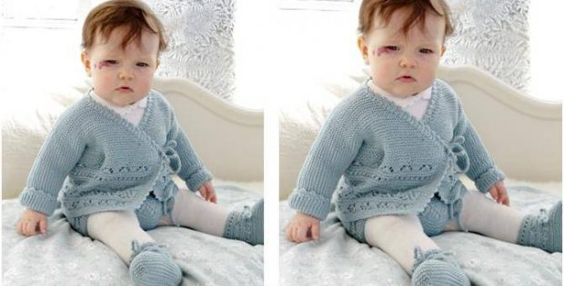 Odeta knitted baby warmers | the knitting space