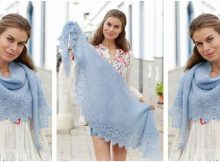 Opaline knitted lace shawl | the knitting space
