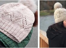 Pennyroyal knitted lace hat | the knitting space