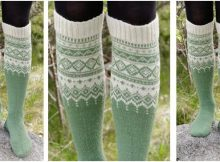 Perles du Nord knitted socks | the knitting space