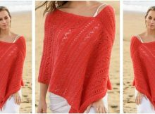 Playa Honda knitted poncho | the knitting space