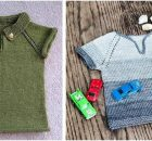 Playground knitted kiddie shirt | the knitting space