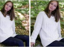 Polar Days knitted sweater | the knitting space