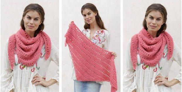Prima Donna Knitted Shawl Free Knitting Pattern