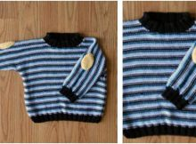 Professor knitted baby pullover   the knitting space