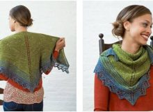 Quaking Aspen knitted shawl | the knitting space