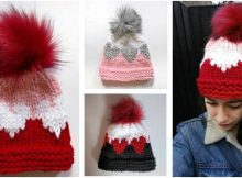 Queen 'O Hearts knitted hat | the knitting space