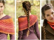Rising Sun knitted lace shawl | the knitting space