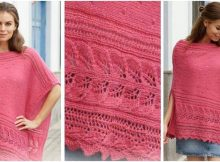 Scarborough Fair knitted poncho | the knitting space