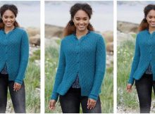 Sea Song knitted cardigan | the knitting space