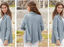 Seaside Dreamer knitted circle jacket | the knitting space