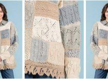 Secret Garden knitted pullover | the knitting space