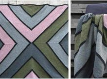 Sedimentum knitted blanket | the knitting space
