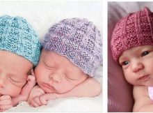 Seventh knitted baby beanie | the knitting space