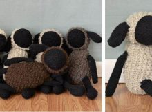 Sheldon Sheep knitted toy | the knitting space