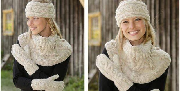 3e8a4eccfff Snødrive Knitted Warmers  FREE Knitting Pattern