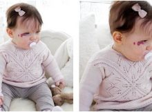 Spring Princess knitted sweater   the knitting space