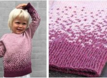 sweet Stardust knitted sweater | the knitting space