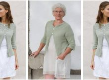 Summer Evening knitted cardigan | the knitting space
