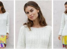 Sweet Pearl knitted sweater | the knitting space